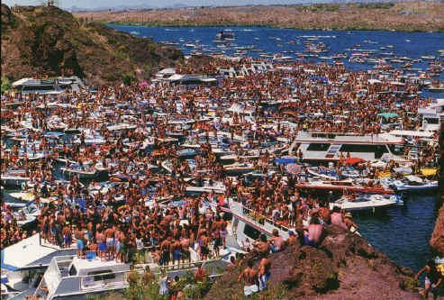 Spring Break on Havasu