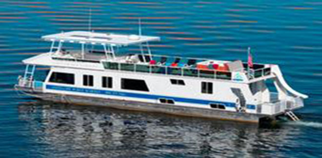 Select your houseboat at Lake Berryessa