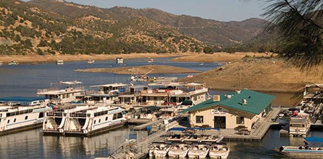 Select your houseboat at Lake Don Pedro