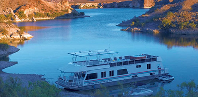 Select your houseboat at Lake Mohave