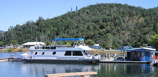 Select your houseboat at Lake Oroville