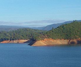 Scenic Lake Oroville