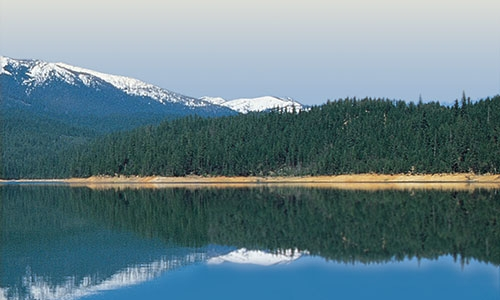 Scenic Trinity Lake