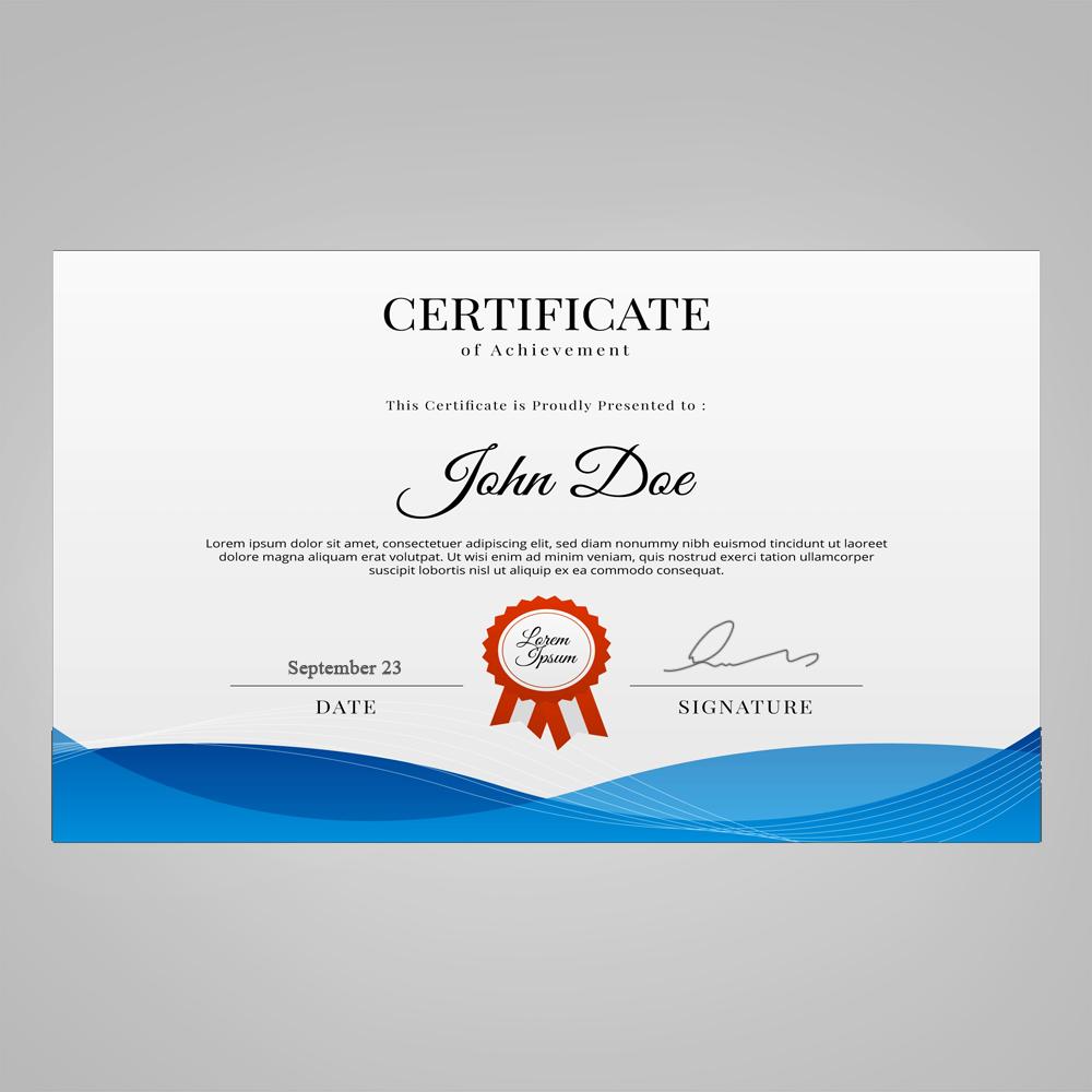 11x8.5 Certificate (Word)