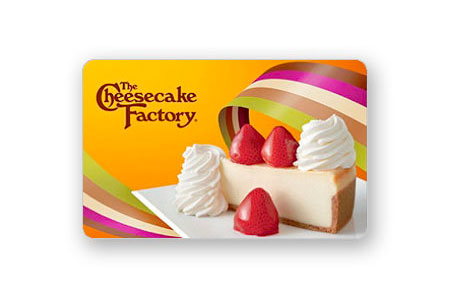 $25 Cheesecake Factory