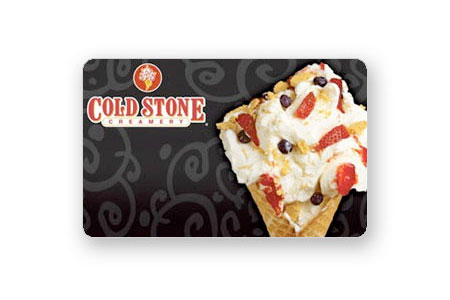 $10 Coldstone Card