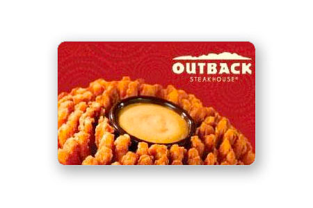 $25 Outback Steakhouse