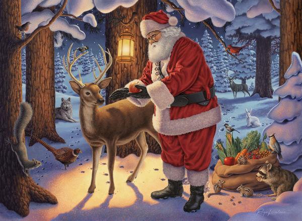 Santa's First Stop