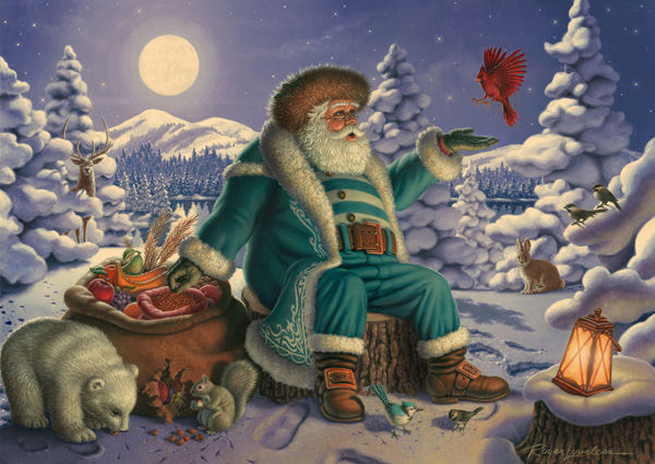 Jolly Old World Santa 2