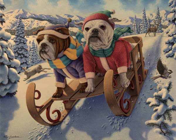 Dogsled!
