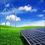 Solar Power and Wind Farm