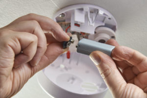 Renting Out Your House Change Battery Smoke Detector