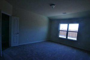 Dark room home rental advertising