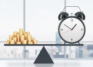 Time money balance to show rental property