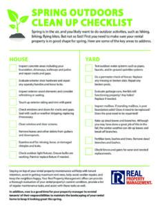 RPM_IG_Spring Maintenance_V1 0 | Real Property Management
