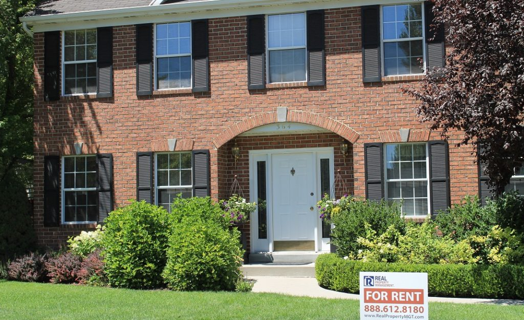 Murfreesboro Property management company RPM Rental Solutions photo of home front for blog.