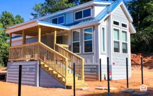 Tiny home on rental property