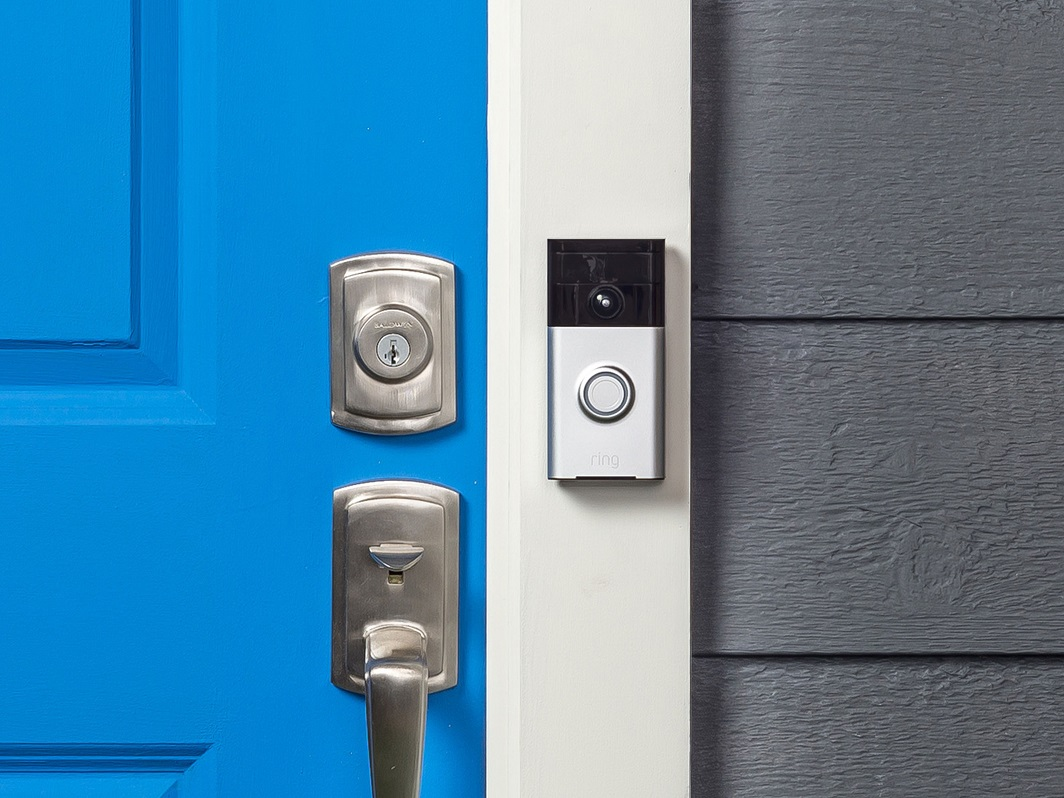 Smart doorbell at a rental property