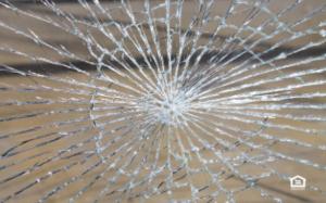 Mirror broken by tenant