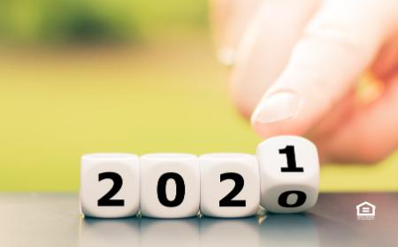 2020 turning to 2021
