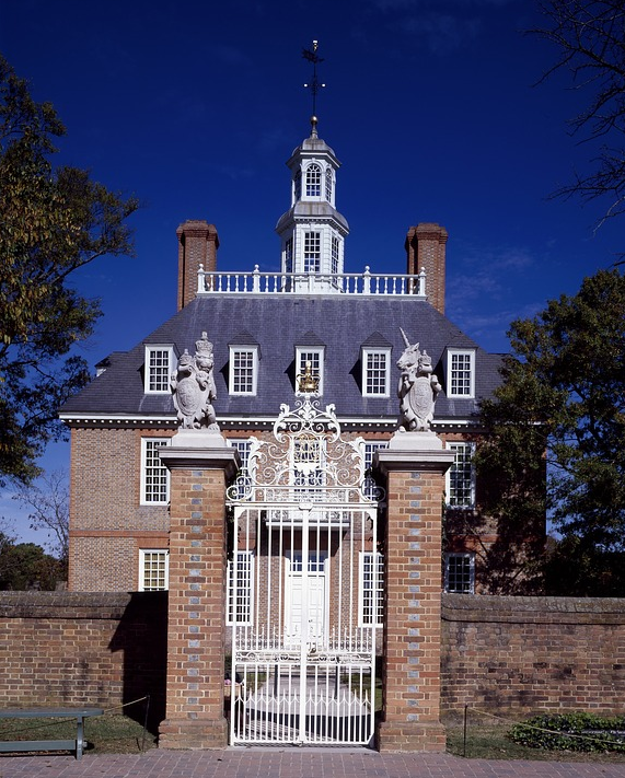 The Governers Palace in Williamburg VA