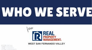 Real Property Management San Fernando Valley – Who Do We Serve?