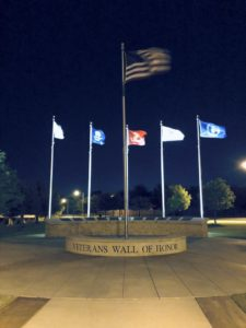 Veterans Memorial Park in Moore