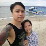 Emmanuel Buensueso and His Wife at the Beach
