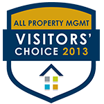 2013 Visitors Choice Aware - All Property Management