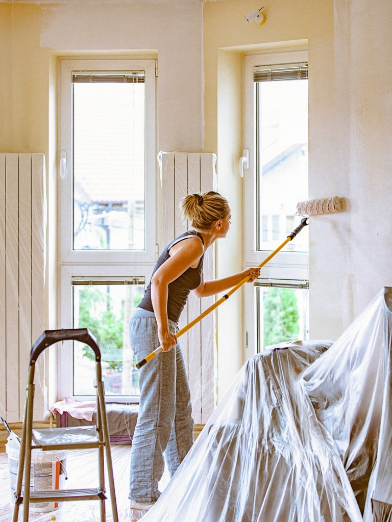 Marlborough Rental Home Interiors Being Repainted by a Resident
