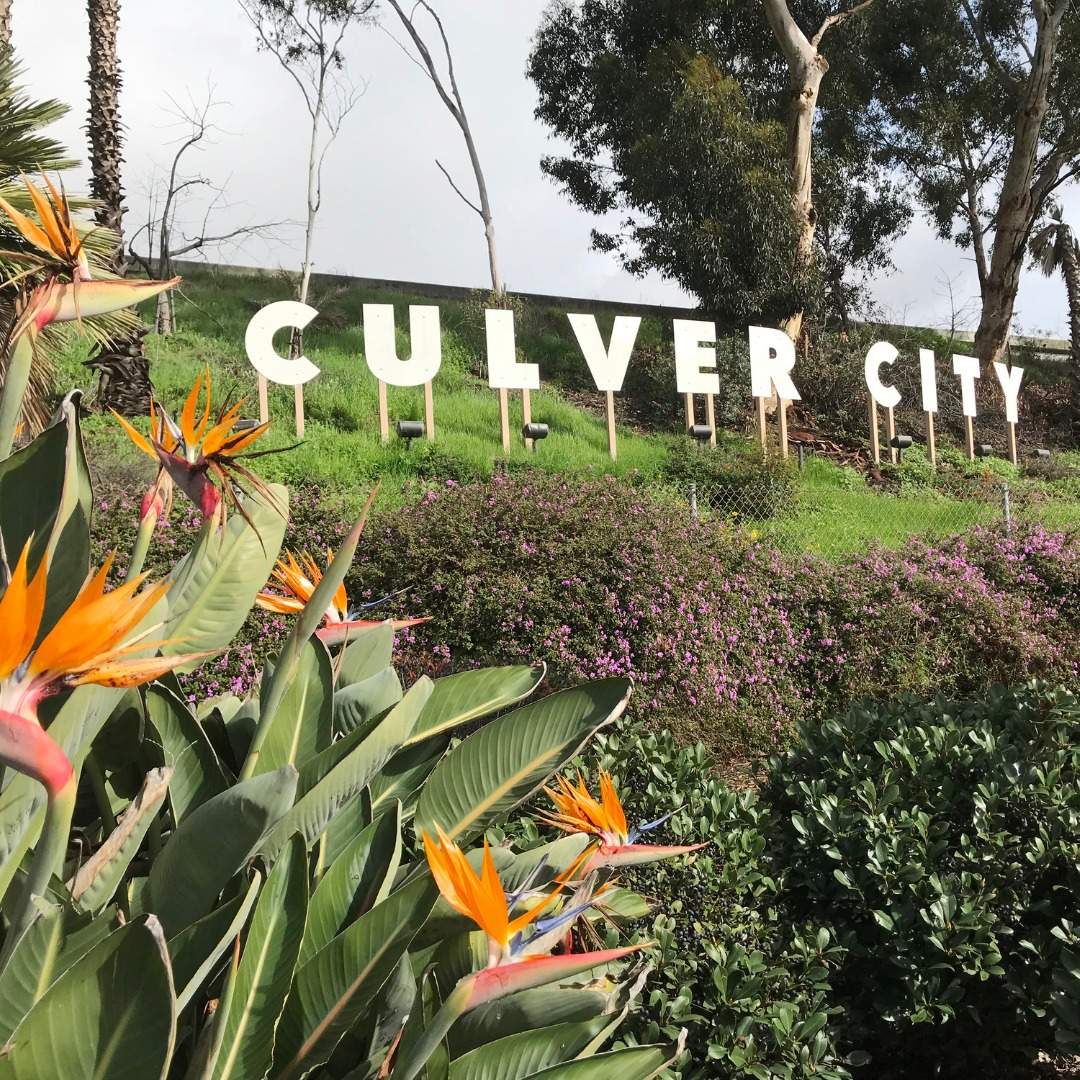 Culver City Sign in Los Angeles CA