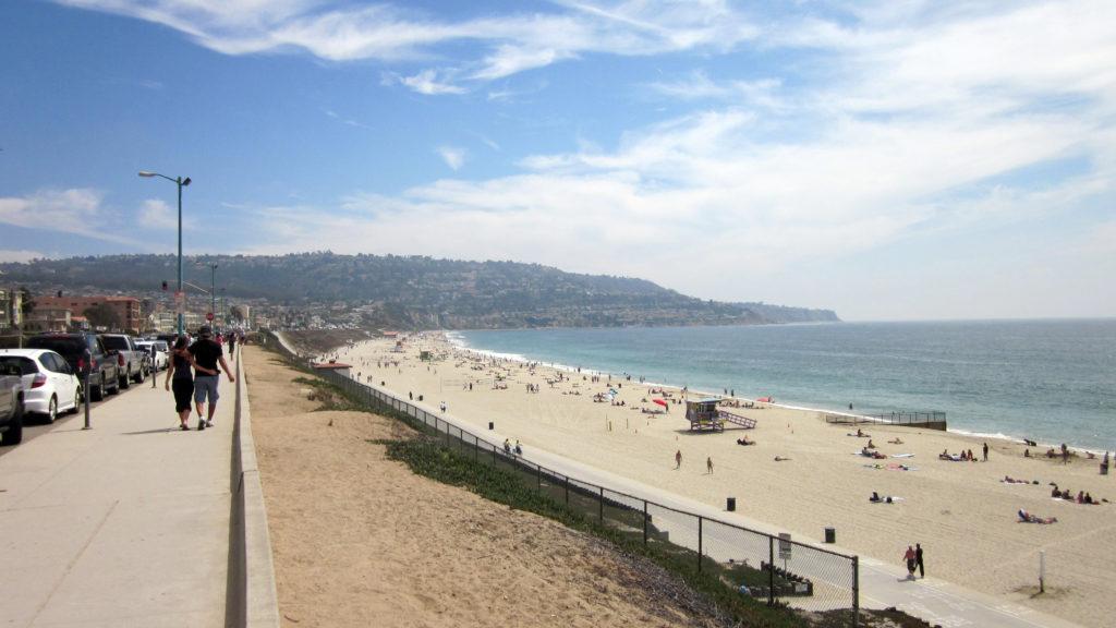 Beach at Torrance, California