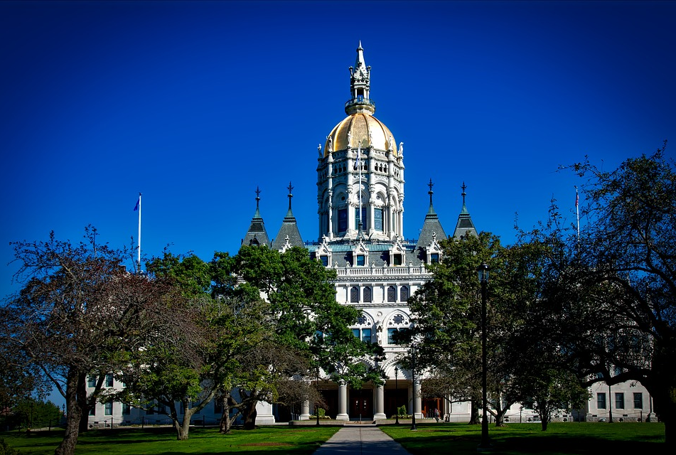 State Capitol Building in Hartford CT