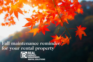 fall maintenance RPM Rental Solutions