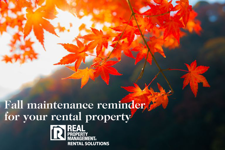 time for fall maintenance RPM Rental Solutions