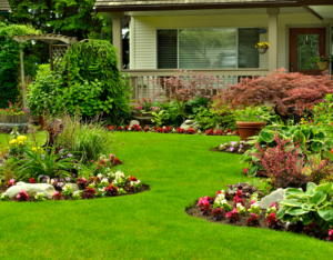 Berwyn Rental Property with Perfectly Maintained Yard with Flower Beds