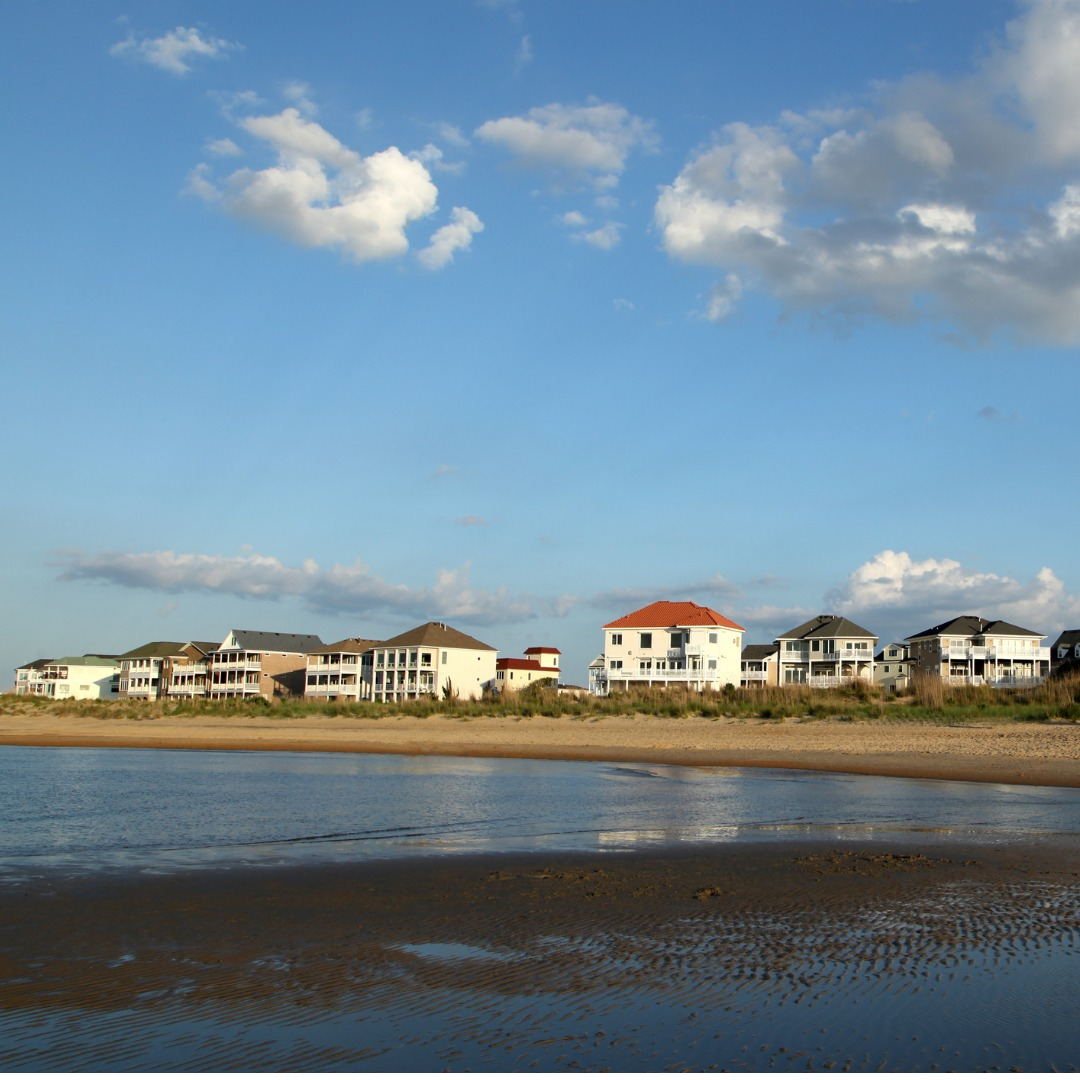 Oceanfront community in Virginia