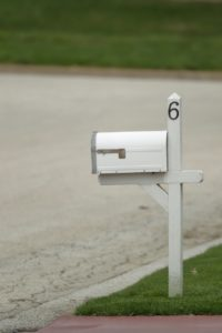 House Number on New York Property's Mailbox