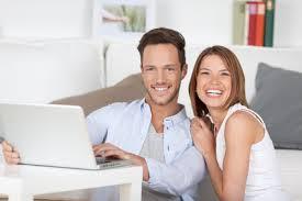 happy tenant:couple