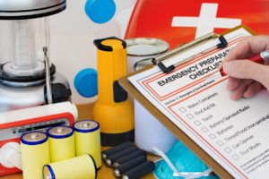 Emergency Preparation Kit for Kimberly Rental Home