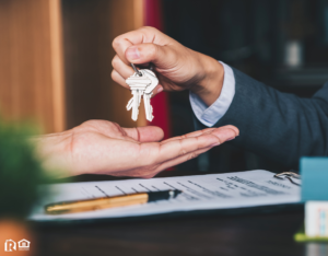 Twin Falls Investor Being Handed a Set of Keys