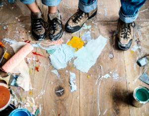 Van Buren Tenants Making Messes While Renovating Your Rental Property