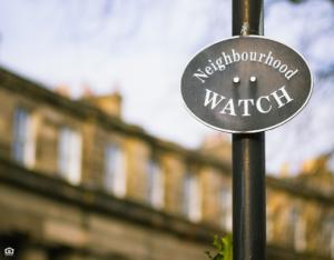 Fruita Neighborhood Watch Sign