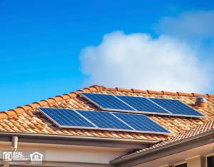 Solar Panels on Beebe Rental Home