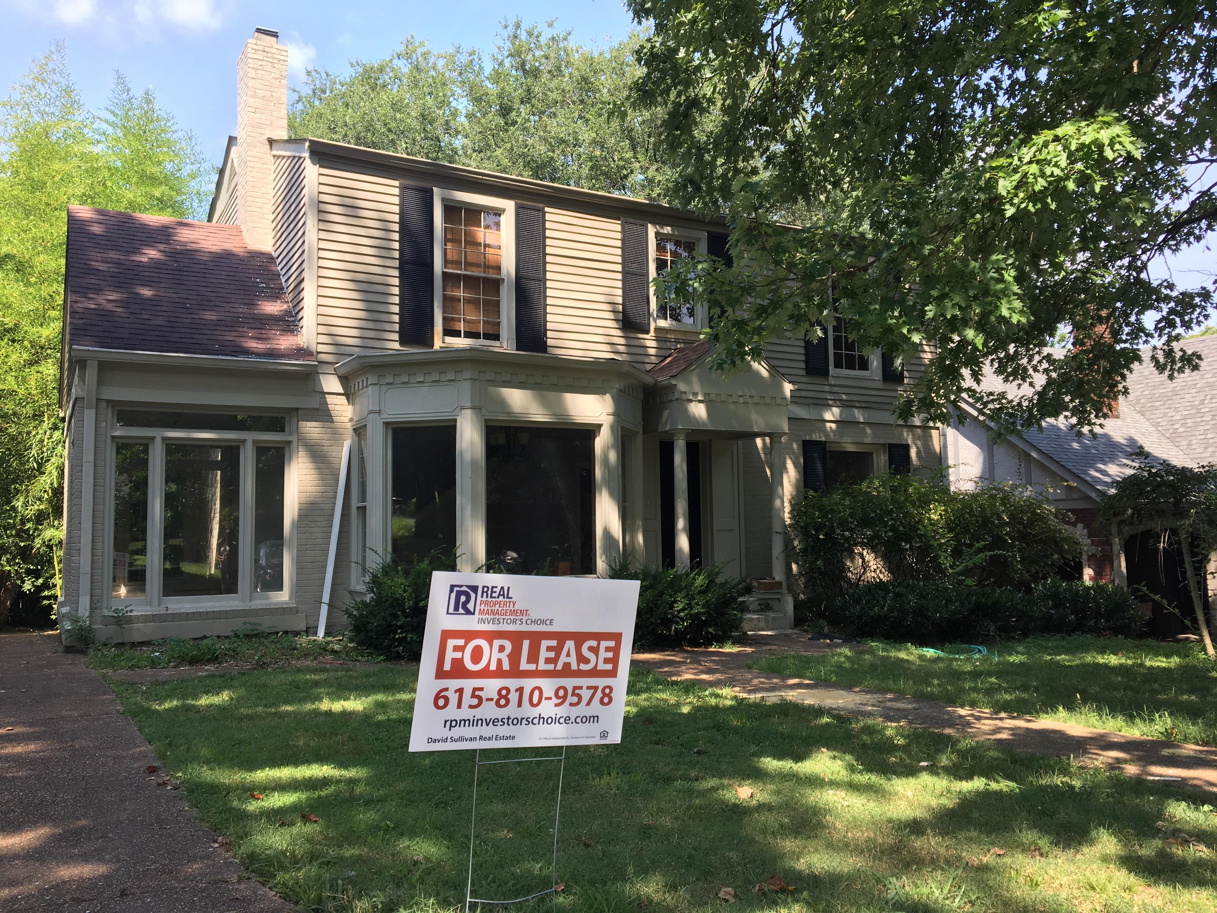 Troy shafer and real property management partner in for Nashville flipped