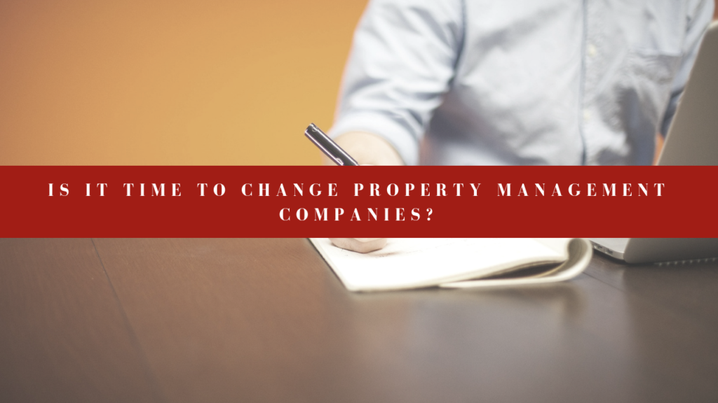Is It Time to Change Tampa Property Management Companies?
