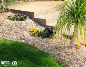 Isle of Wight Rental Property with a Xeriscaped Yard