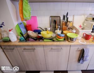 Poquoson Messy Kitchen