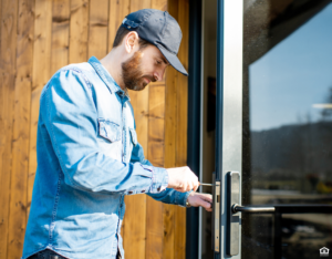 Tenant Changing Locks on Their Cypress Rental Property