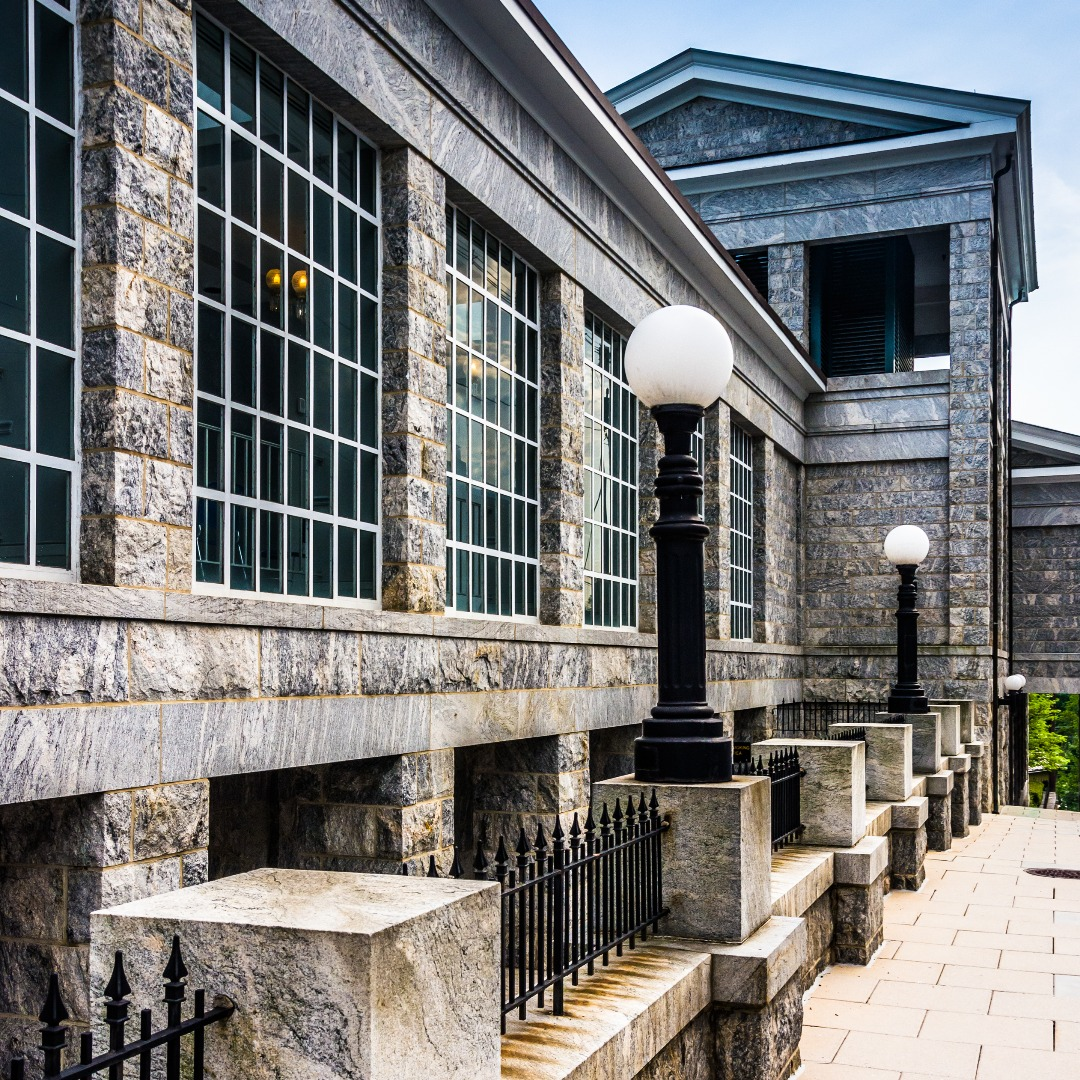The Howard County Circuit Courthouse in Ellicott City MD